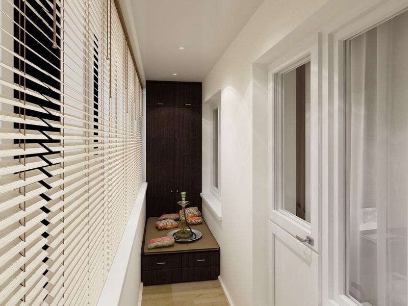 Оформление балкона - дизайн интерьера (советы мастеров).