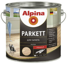 Alpina Parkett Glanzend лак для паркета 5л