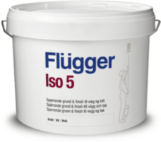Flugger Iso 5 Primer & Finish алкидная изолирующая краска для интерьеров 10л