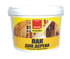 NEOMID Interior лак для стен 2.5л
