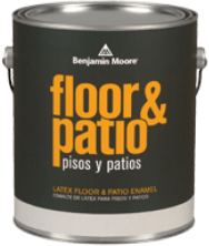 Benjamin Moore Latex Floor & Patio Enamel.122 краска для пола 3.79л