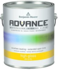 Benjamin Moore Advance Waterborne High Gloss.794 алкидная эмаль 3.79л
