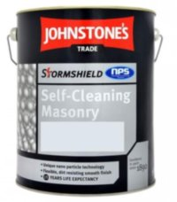 Johnstones Stormshield Self- Cleaning Masonry фасадная краска 10л