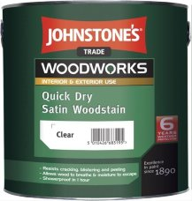 Johnstones Quick Dry Satin Woodstain антисептик для древесины 2,5л
