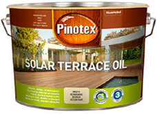 PINOTEX Solar Terrace Oil масло для террасы 9,3л