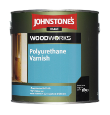 Johnstones Polyurethane Varnish Clear Satin мебельный лак 5л