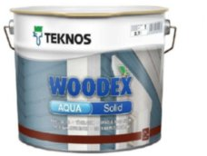 Teknos Woodex Aqua Solid кроющий антисептик для древесины 9л