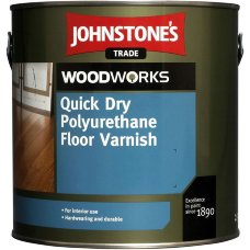 Johnstones Quick Dry Floor Varnish Satin лак для паркета 5л
