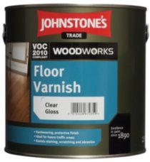 Johnstones Floor Varnish Gloss паркетный лак 5л