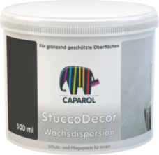 CAPAROL StuccoDecor Wachsdispersion воск 0,5л