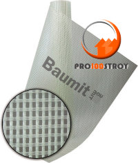 Baumit StrongTex панцирная стеклосетка, плотность 340 гр/м2
